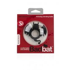 Виброкольцо BadBat - Black SH-SLI001