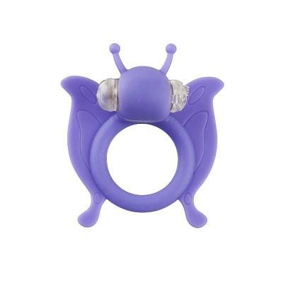 Виброкольцо Butterfly - Purple SH-SLI004