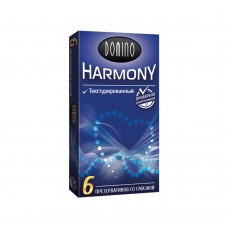 Презервативы Domino Harmony №6 Текстурированный
