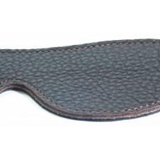 Маска из натуральной кожи коричневая двухсторонняя 58003ars