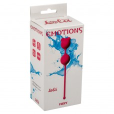 Вагинальные шарики Emotions Foxy Pink 4001-02Lola