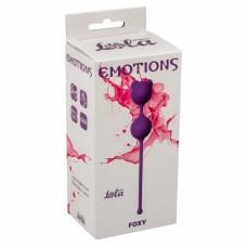 Вагинальные шарики Emotions Foxy Purple 4001-01Lola