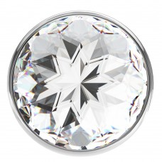 Анальная пробка Diamond Clear Sparkle Large 4010-01Lola