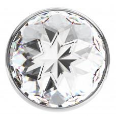 Анальная пробка Diamond Clear Sparkle Small 4009-01Lola