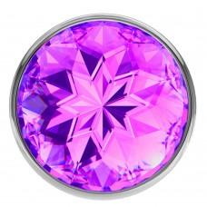 Анальная пробка Diamond Purple Sparkle Large 4010-05Lola