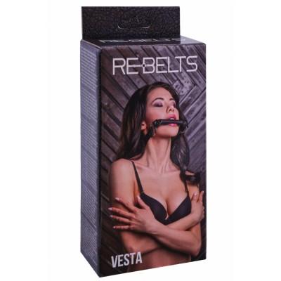 Кляп-трензель Vesta Black 7744-01rebelts