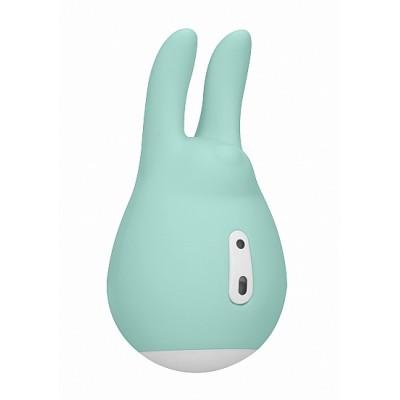 Клиторальный стимулятор Sugar Bunny Green SH-LOV019GRN