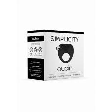 Вибрирующее кольцо Aubin10 Speed Black SH-SIM047BLK