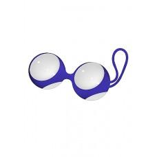 Вагинальные шарики Chrystalino Ben Wa Medium White SH-CHR023WHT