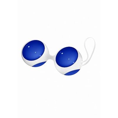 Вагинальные шарики Chrystalino Ben Wa Small Blue SH-CHR022BLU