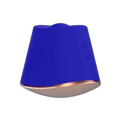 Клиторальный стимулятор Rotating & Vibrating Clitoral Stimulator Dazzling Blue SH-ELE009BLU