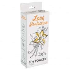 Пудра для игрушек ароматизированная Love Protection Ваниль 30гр 1824-01Lola