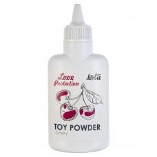 Пудра для игрушек ароматизированная Love Protection Вишня 30гр 1821-01Lola
