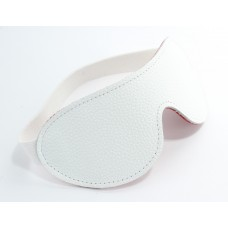 Белая маска из кожи 58009ars